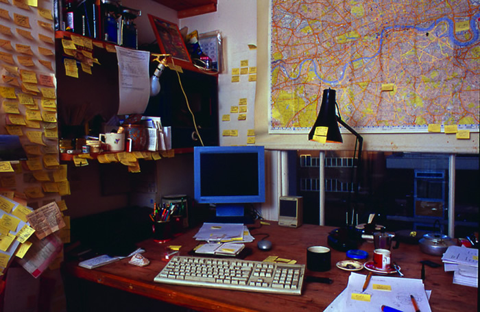Will Self: Writing Room