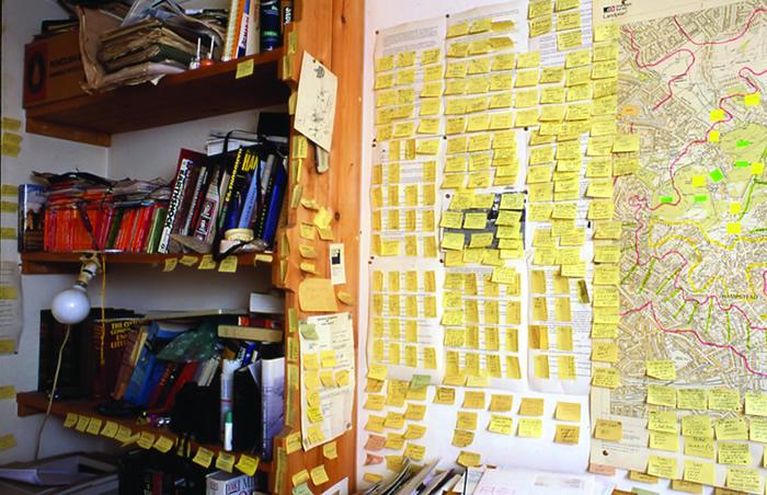 Will Self: Writing Room